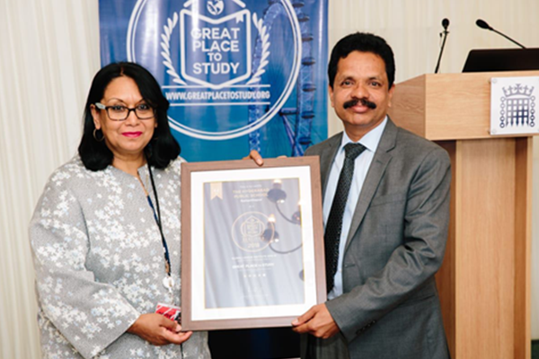 HPSR received the Global league institute-2018 award
